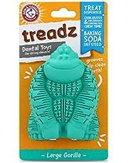 Arm & Hammer Super Treadz Dental Dog Toys | Tough Dog Chew Toys for Aggressive Chewers