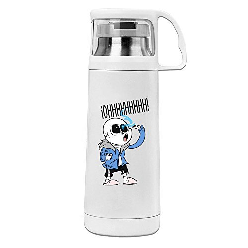 [Undertale Sans 304 Stainless Steel ABS Thermos Vacuum Insulated Travel Mug Cup With Handle] (Courtney Love Costume)