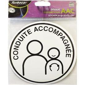 AAC Disque magnetique Conduite ACCOMPAGNEE Apprentissage Accompagne de la Conduite