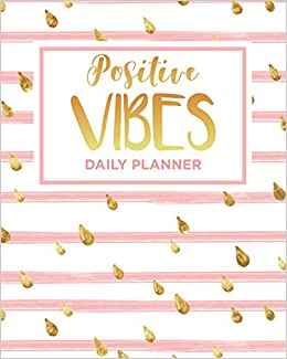 image about Day Planners identify Sure Vibes Each day Planner: Undated Weekly Daytimer (365
