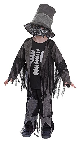 Bristol Novelty CC417 Grave Digger Costume  (Small), Approx Age 3 -5 Years, Grave Digger Costume (S)