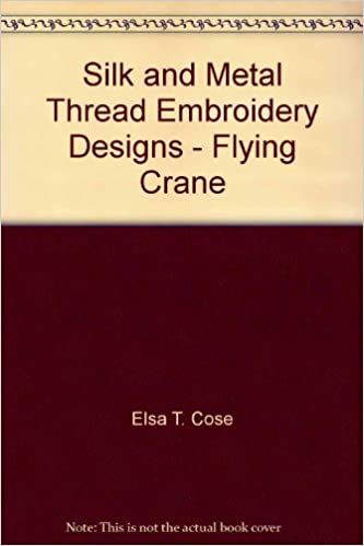 Read online Silk and Metal Thread Embroidery Designs - Flying Crane PDF, azw (Kindle)
