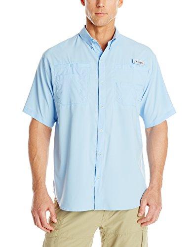 Columbia Men's Tamiami II Short Sleeve Shirt (Big), Sail, 4X