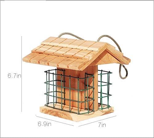 Comedero para pájaros ModelWing, Capacidad para 2 Pasteles de ...