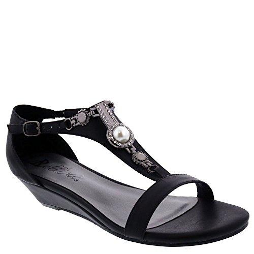Bellini Lynn Women's Sandal 10 C/D US Black from Bellini