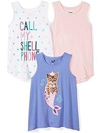 Girls' Toddler & Kids 3-Pack Sleeveless Tank Tops