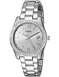 Women's 'Scarlette' Quartz Stainless Steel Casual Watch, Color:Silver-Toned (Model: ES4317)