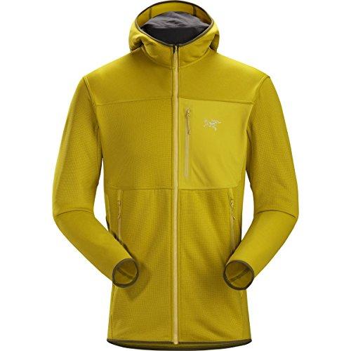 Arcteryx Jacket Fleece (Arc'teryx Fortrez Hooded Fleece Jacket - Men's Woad, XL)