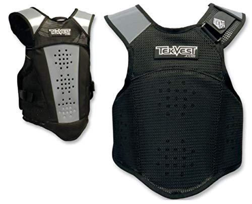 - Tekrider Crossover TekVest , Size: XL, Distinct Name: Black, Gender: Mens/Unisex TVOB2306