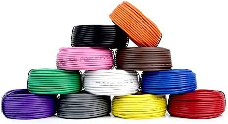 4 Rolls Audiopipe 50 Feet 18 Gauge AWG Primary Remote Wire Auto Power Cable