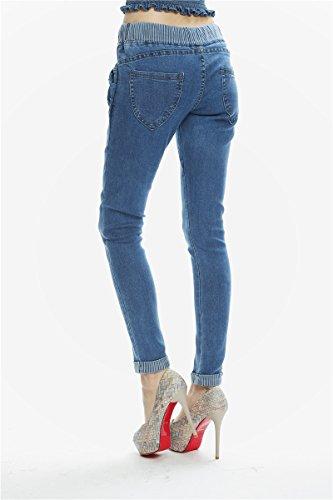 Blu Jeans Jeans FuweiEncore donna Jeans da da Jeans donna Jeans Pantaloni aderenti g6dPqw6
