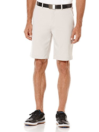 Callaway Mens Shorts - Callaway Men's Golf Performance Flat Front Tech Shorts, Silver Lining, Size 32