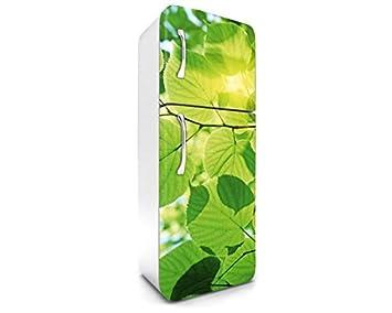 Kühlschrank Dekorfolie : Dimex line kühlschrank aufkleber blÄtter cm stickers