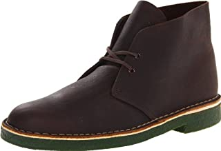 CLARKS Men's Desert Chukka Boot, Brown Oily Leather, 11 M US (B00AYCM4LC) | Amazon price tracker / tracking, Amazon price history charts, Amazon price watches, Amazon price drop alerts