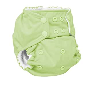 Rumparooz One Size Cloth Pocket Diaper Snap, Lazy Lime (Discontinued by Manufacturer)