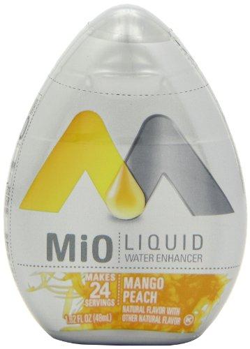 MiO Liquid Water Enhancer, Peach Mango, 1.62 Ounce (Pack of 12)