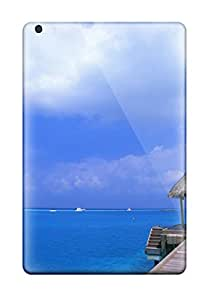 Alicia Russo Lilith's Shop New Style Waterdrop Snap-on Blue Sky Beach Case For Ipad Mini 2 1155557J88963433