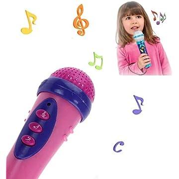 New Fashion Gadgets Cute Girls Boys Microphone Karaoke Singing Funny Gift Music Toy For Kids Children Creative Joyful Party