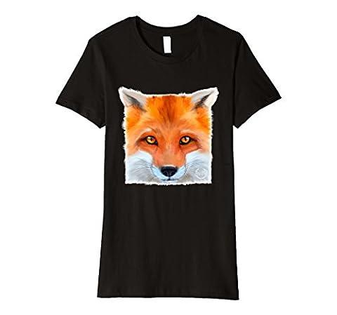Womens Ultimate Fox Simulator Official T-Shirt Large Black (Simulators For Women)