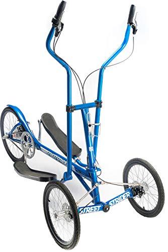 (StreetStrider 3i Outdoor + Indoor Elliptical Cross Trainer, Blue)