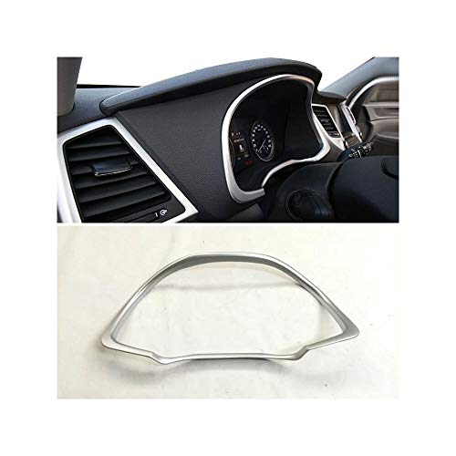 Yp Chrome Instrument Gauge Panel Cover Trim Bezel Garnish For Hyundai Tucson 2015-2017: