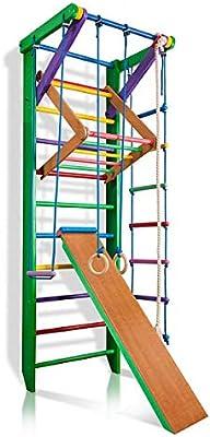 Barras de Pared para escaleras suecas, Sport-3-220-Green, Gimnasio en casa, Complejo Deportivo de Gimnasia: Amazon.es: Deportes y aire libre