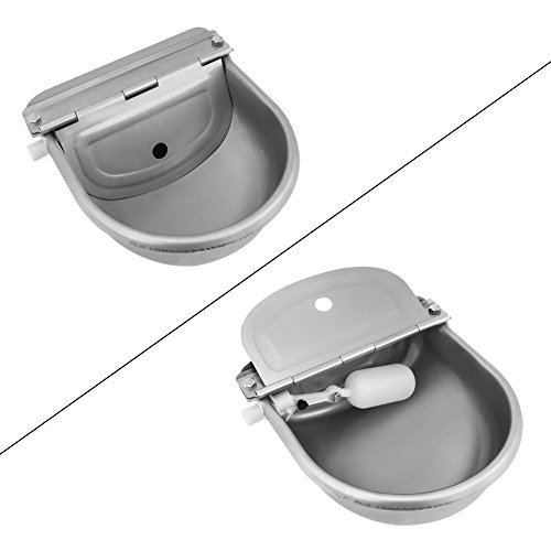 Cocoarm Stainless Steel Automatic Waterer Bowl with Float Valve Water Trough for Horse Cattle Goat Sheep Pig Dog by Cocoarm (Image #3)