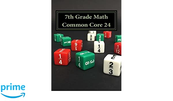Counting Number worksheets grade 7 math probability worksheets : Amazon.com: 7th Grade Math Common Core 24 (9781523846863): Todd ...