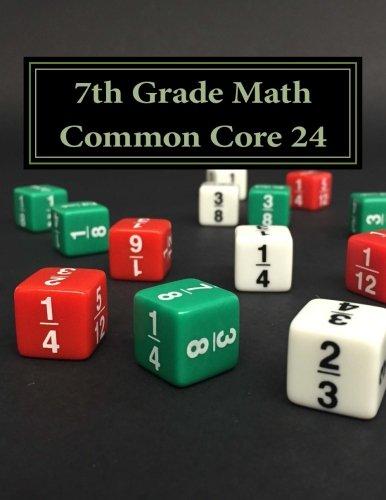 Amazon.com: 7th Grade Math Common Core 24 (9781523846863): Todd ...