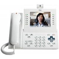 Cisco CP-9971-W-CAM-K9= Unified IP Phone 9971 Standard - IP video phone - IEEE 802.11b/g/a (Wi-Fi) - SIP - arctic white