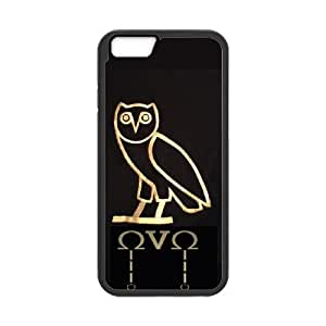 iPhone 6 4.7 Inch Cell Phone Case Black Drake Ovo Owl VHQ