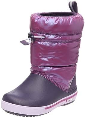 Crocs Crocband Gust Boot K Boot (Toddler/Little Kid/Big Kid),Viola/Mulberry,7 M US Toddler