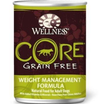 Wellness CORE Grain Free Weight Management Pet Food Can, 12.5-Ounce, My Pet Supplies