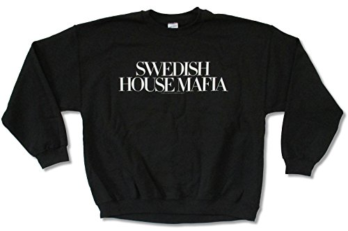 Swedish House Mafia Logo Black Crewneck Sweatshirt (Large)