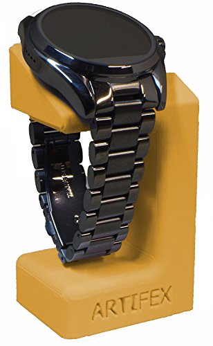 Michael Kors Access Combo SmartWatch Stand by Artifex Design for Dylan and Bradshaw smartwatch Charging Dock Stand  (Gold)