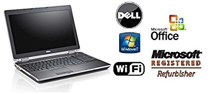 Premium Renewed Dell 15.6in Notebook- Latitude E6520 -Intel i7-Quad Core CPU - 16GB DDR3 RAM - New 2TB Hard Drive - Windows 7 PRO 64-Bit OS & MS Office Preinstalled - DVD/RW (Renewed)