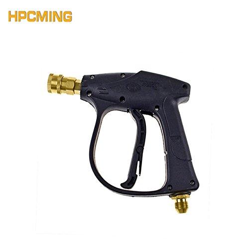 HPCMING Pressure Washer Gun 3000PSI/200BAR/20MPa Car Wash Water Gun Useful Tools(cw027)