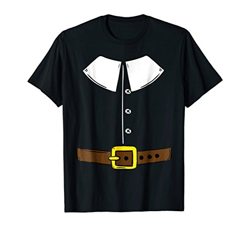 Funny Thanksgiving Pilgrim Outfit T Shirt Gift
