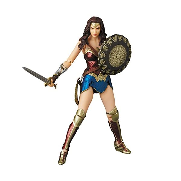 4185MiBz3cL Medicom Wonder Woman Movie: Wonder Woman MAF EX Action Figure