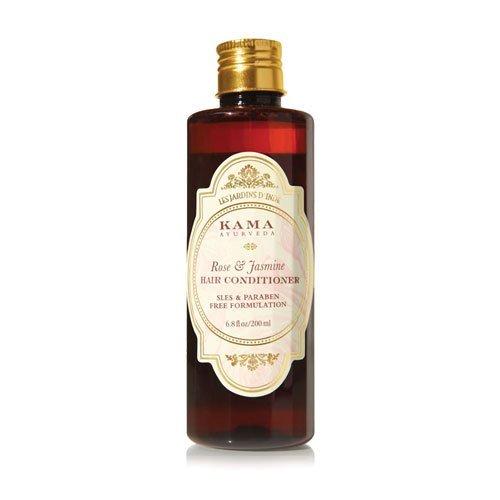 "Kama Ayurveda Rose & Jasmine Hair Conditioner, 200ml - - ""Expedited International Delivery by USPS / FedEx """