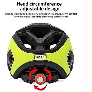 Shirwory Casques Vélo Vélo Casque VTT Vélo Hoverboard Casque pour La Sécurité De La Conduite Léger Réglable Respirant Casque pour Hommes Femmes Enfants Hommes Femmes Locks