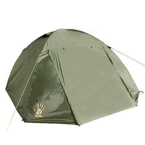 12 Survivors Shire Tent Green