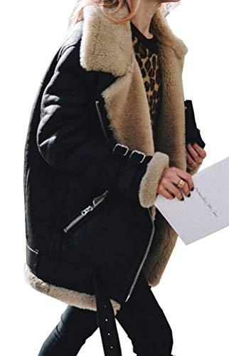 Magike Automne Fille Veste Blouson Vêtement Hoodie Femme Noir Veston Chaud wTqOEnrTZ