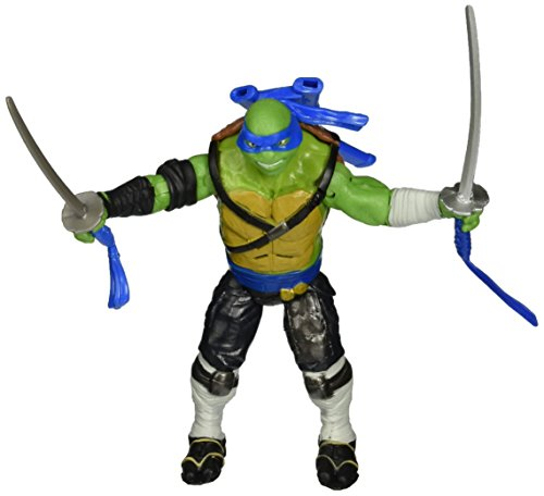 Teenage Mutant Ninja Turtles Movie 2 Out Of The Shadows Leonardo Deluxe Figure