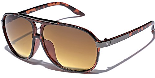 Men's Women's Retro Vintage 80s Classic Fashion Designer Aviator Sunglasses - Classic Zoom Sunglasses