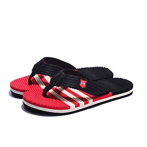 la 40 de 44 del los M 39 masculinos 2018 de masaje de 41 hombres 42 de XIE 43 modelos S M Tamaño tiras L Deslizadores sandalias masculinas zapatillas verano 42 antideslizantes nueva 41 fBOqE5nwPx