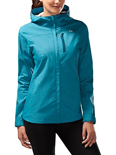 - Paradox Women's Platinum Waterproof Rain Jacket (Medium, Teal)