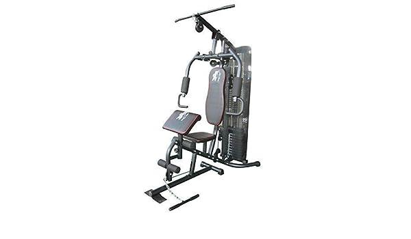 Estación de entrenamiento de fuerza F4H Olympic 7080, multigimnasio en casa, fisicoculturismo, entrenamiento: Amazon.es: Deportes y aire libre