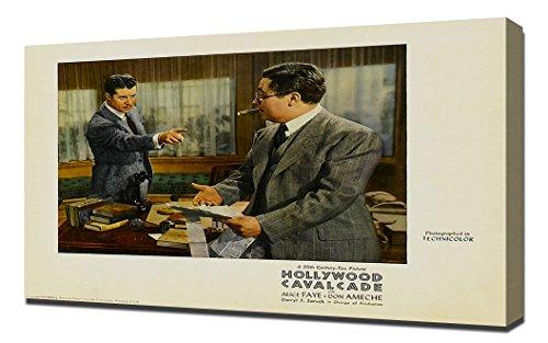 Poster - Hollywood Cavalcade 13 - Canvas Art Print ()