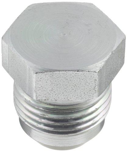 Eaton Aeroquip 900599-10S Plug, Female 37 Degree JIC Fitting, JIC 37° End Types, Carbon Steel, 7/8 JIC(m) End Size, 5/8